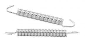 Bikemaster Exhaust Springs - Silver - 80mm