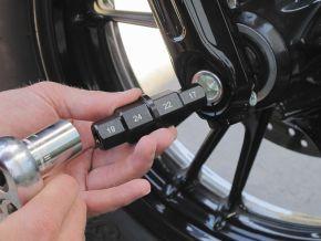Bikemaster Hex Axle Tool - Chrome