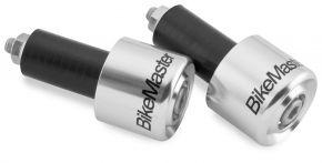 "Bikemaster Anodized Aluminum Billet Bar Ends - 7/8"" - 1"" BARS"