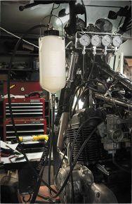 Bikemaster Auxiliary Fuel Tank