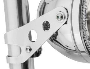 Bikemaster Universal Headlight Bracket - Chrome