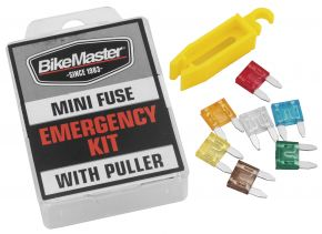 Bikemaster Mini-Fuse Emergency Kit - Clear