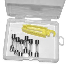 Bikemaster Mini-Fuse Emergency Kit - Clear - A-1223