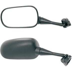 Parts Unlimited Mirror - Black - Left