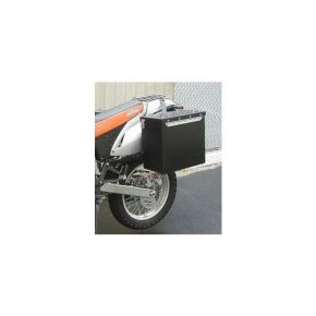 Happy Trails Products Aluminum Pannier Kit OWYHEE - KTM LC4-400 Enduro