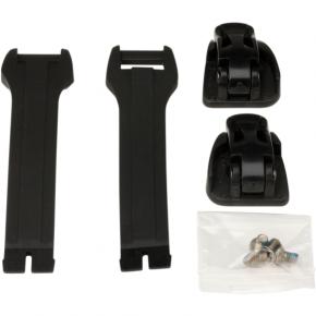 Moose Racing Strap/Buckle Kit - Black