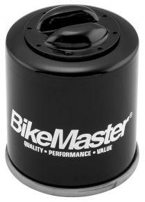 Bikemaster Oil Filters for Street - PIAGGIO 125CC-250CC 03-08, APRILLIA 01-09 - Black