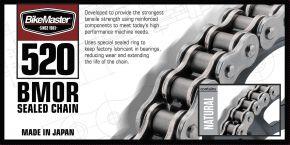 Bikemaster 520 BMOR Series Chain - Natural - 520 x 82
