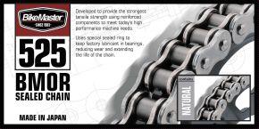 Bikemaster 525 BMOR Series Chain - Natural - 525 x 108