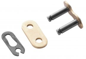 Bikemaster 420H Heavy-Duty Precision Roller Bulk Chain/Link - Gold - 420