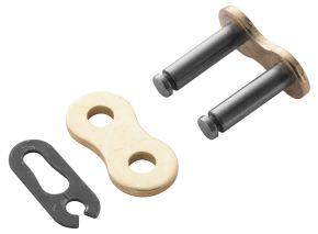 Bikemaster 428H Heavy-Duty Precision Roller Bulk Chain/Link - Gold - 428