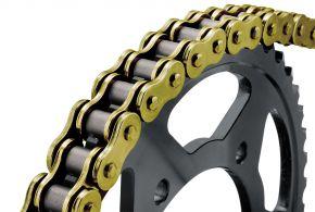 Bikemaster 428H Heavy-Duty Precision Roller Chain - Gold - 428