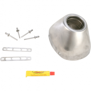 FMF RACING RCT End Cap - Stainless Steel