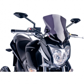 PUIG New Generation Windscreen - Dark Smoke - GW250