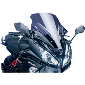 PUIG Race Windscreen - Dark Smoke - Ninja 650