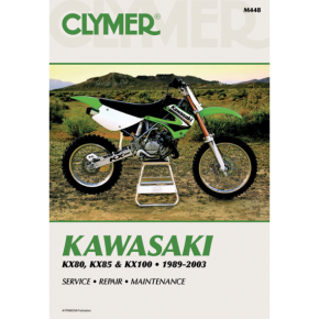 Manual - Kawasaki  KX80/85/100