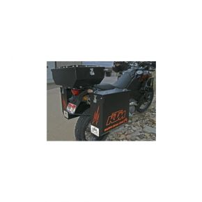 Happy Trails Products Aluminum Pannier Kit Cascade - KTM 950-990 ADV