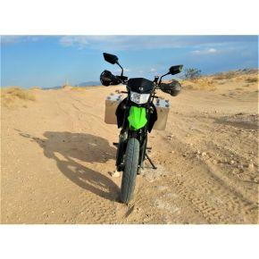 Happy Trails Products Aluminum Pannier Kit OWYHEE Kawasaki 2009+ KLX250S & KLX300 - Current