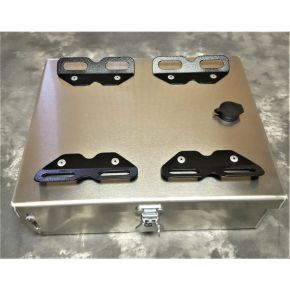 "Happy Trails Products Aluminum Top Box 8 Liters - 10""x12.5""x4"" NC"