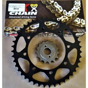 Special! KLR Deal  - Front/Rear Sprockets & X-Ring Chain