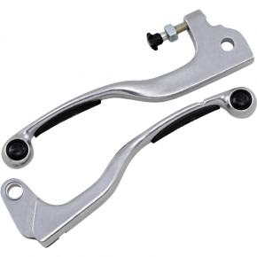 Moose Racing Black Competition Lever Set for YZ/WR