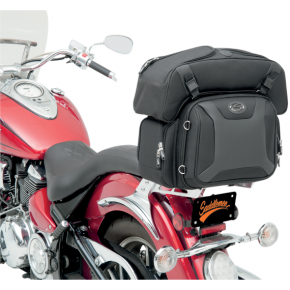 Saddlemen FTB2500 Sport Sissy Bar and Combo Bag