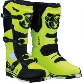 Moose Racing M1.3 MX Boots - Hi-Viz - Size 10
