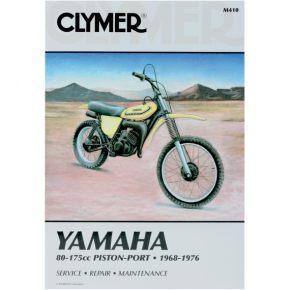 Clymer Manual - Yamaha 80-175 Piston-Port