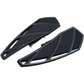 Kuryakyn Phantom Driver Floorboards - Black - Harley-Davidson Softails '18-'19