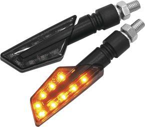 Bikemaster Tanto LED Turn Signals - Black