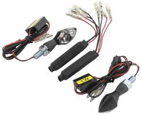 Bikemaster MicroBright Turn Signals - Black