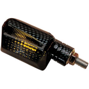 K and S Technologies DOT Marker Light - Ministalk - Black Smoke