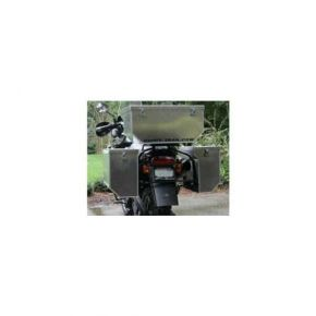 Happy Trails Products Aluminum Pannier Kit TETON CLIF Triumph Tiger 955
