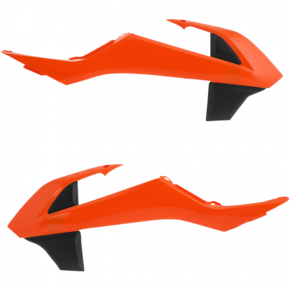 Acerbis Radiator Shrouds - SX 65 - 16 Orange
