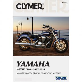 Clymer Manual - Yamaha V-Star 1300