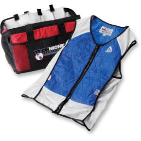 Hybrid Elite Sport Cooling Vest - Blue - Medium