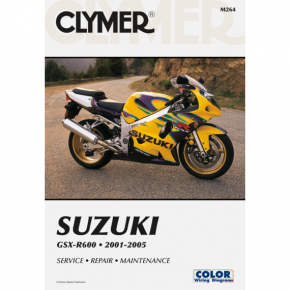 Clymer Manual - Suzuki GSXR600 '01-'05