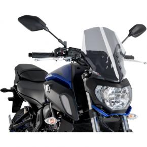 PUIG Race Windscreen - Smoke - Tour - Yamaha