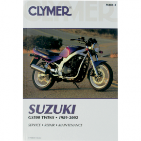 Clymer Manual - Suzuki GS 500 Twin