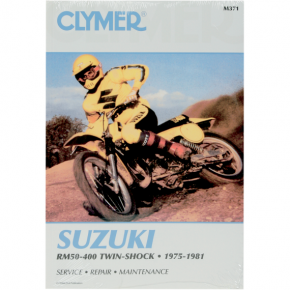 Clymer Manual - Suzuki RM50-400 Twin Shock