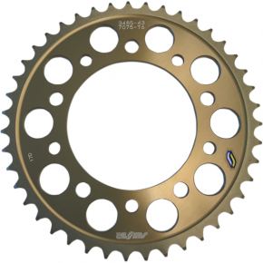 Sunstar Sprockets Rear Sprocket - 43-Tooth - Yamaha