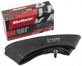 Bikemaster Heavy-Duty Moto Tubes - Black - 80/100-12