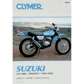 Clymer Manual - Suzuki 125-400