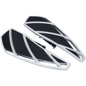 Kuryakyn Phantom Driver Floorboards - Chrome - Harley-Davidson Softails '18-'19