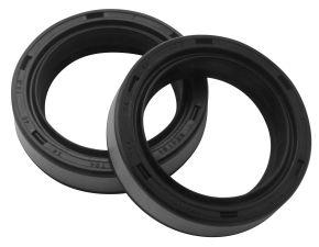 Bikemaster Fork Seals for Street - OEM# FSM002 DM3 - Black - 34 x 46 x 10.5