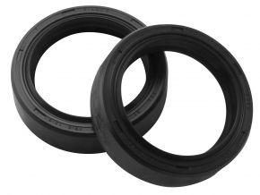 Bikemaster Fork Seals for Street - OEM# FSM006 DR3 - Black - 37 x 48 x 12.5/13.5