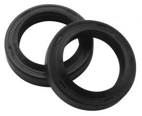 Bikemaster Fork Seals for Street - OEM# FSM010 DR3 - Black - 27 x 37 x 7.5/9.5