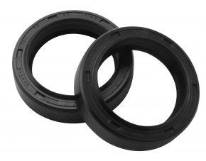 Bikemaster Fork Seals for Street - OEM# FSM025 DR3 - Black - 36 x 48 x 11/12.5