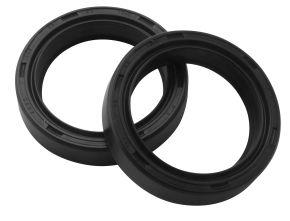 Bikemaster Fork Seals for Street - OEM# FSM026 DR3 - Black - 38 x 50 x 10.5
