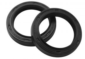 Bikemaster Fork Seals for Street - OEM# FSM027 DR2 - Black - 37 x 49 x 8/9.5